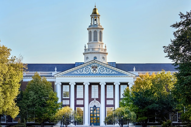 Harvard university in cambridge, usa
