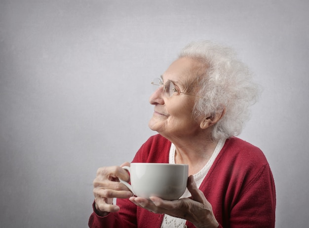 Having a nice cup of tea