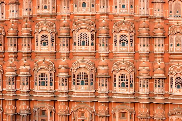 Хава махал дворец ветров, джайпур, раджастхан