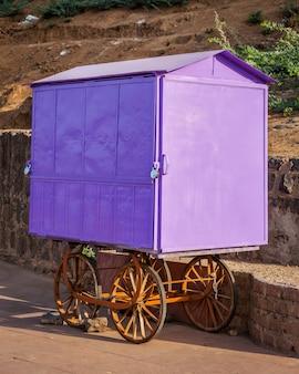 Hawker cart, india