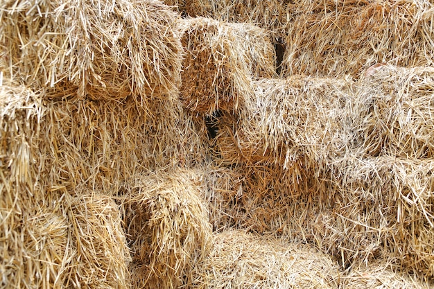 Haystack, pile of straw