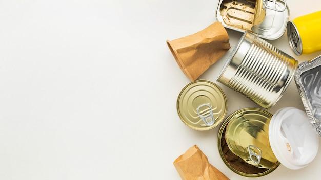 自然缶への有害廃棄物