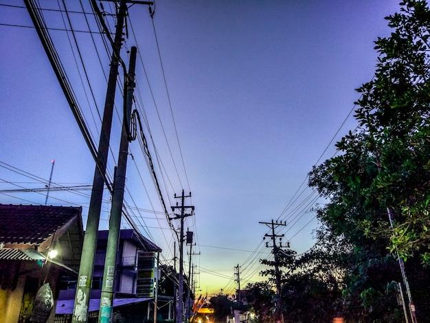 Hdr twilight in yogyakarta