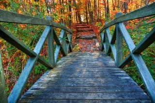 Hdrを落下する橋