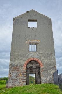 タンカーズタウン銅鉱山hdr窓