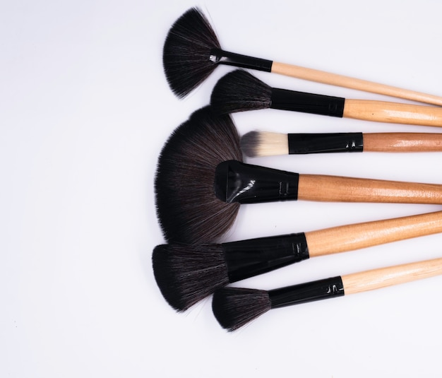 Head of makeup brushes, cosmetic tool