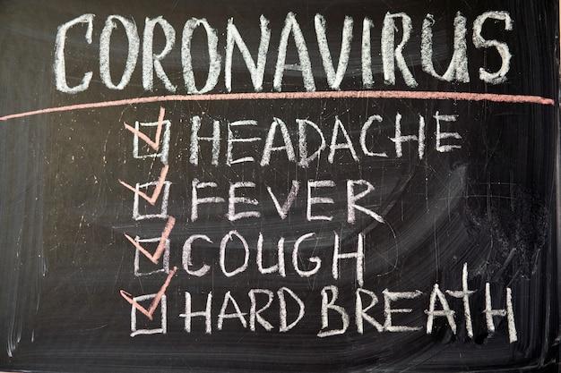 Headache fever cough hard breath outbreak warning.