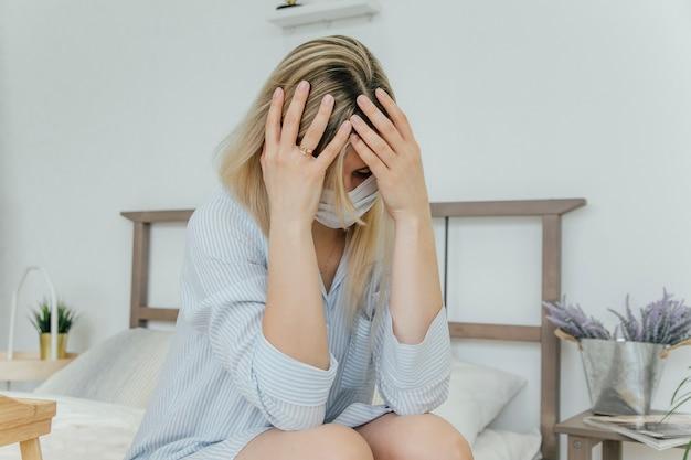 女の子の頭痛、病気