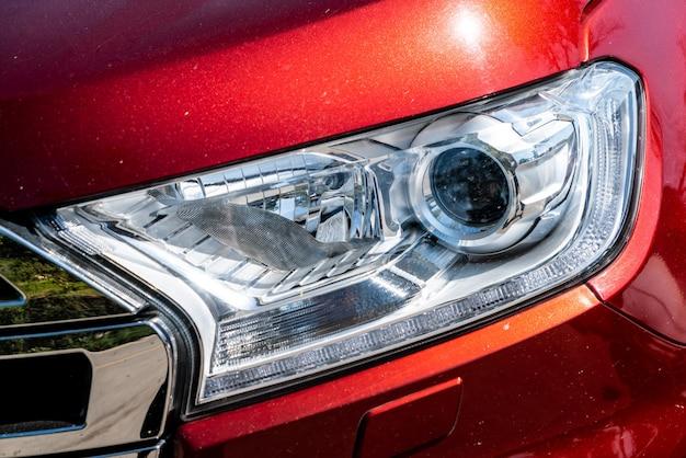 자동차의 헤드 라이트 램프