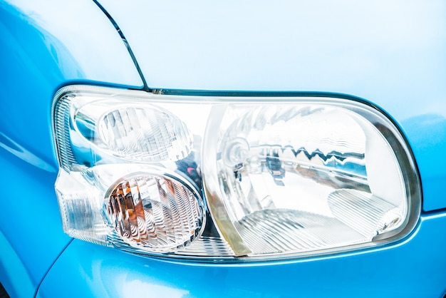 Headlight lamp car