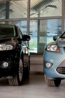 Headlights of modern cars