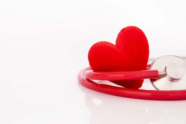 Health  insurance and medical healthcare heart disease concept