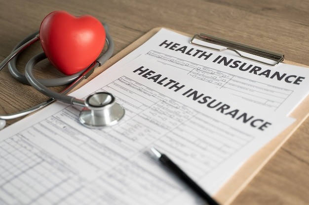 Health insurance  medical risk safety healthcare medical digital insurance