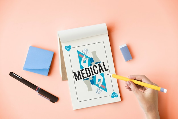 건강 의학 치료 웰빙 개념