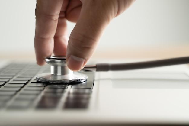 健康の脆弱性碑文の安全性医療機器聴診器医療データ違反