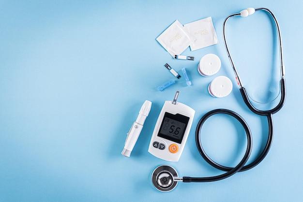 Здравоохранение и медицинская концепция, всемирный день борьбы с диабетом, 14 ноября.