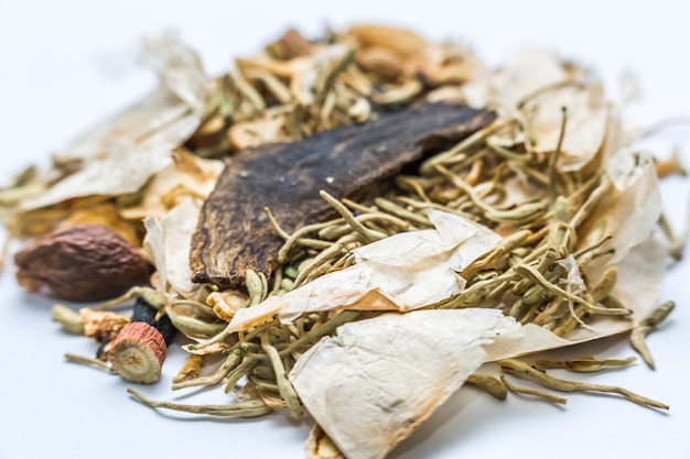 Healthcare background herbal spice health remedy