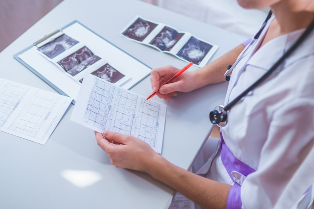 Healthcare and medicine. diagnosis and treatment of the disease