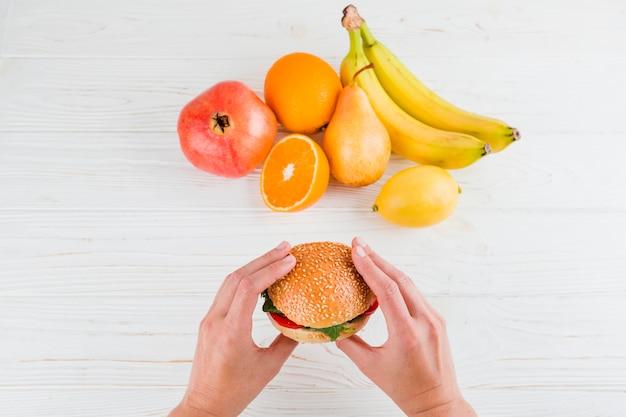 Здоровая и нездоровая пища