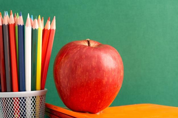 학생들을위한 건강한 사과 무료 사진