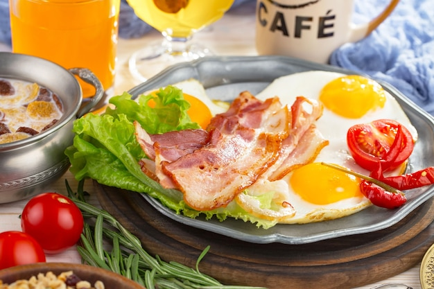 건강한 아침 식사