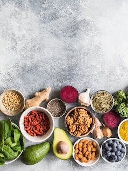 Healthy clean food