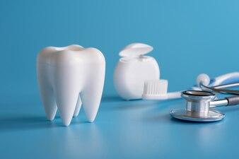 Healthy dental equipment  tools for dental care Professional  Dental concept