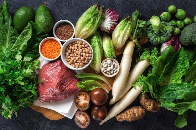 Здоровое питание и сбалансированное питание