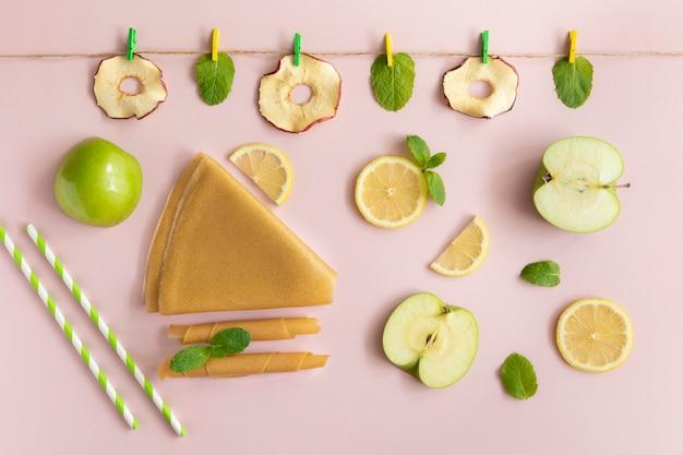 健康的なドライフルーツチップ