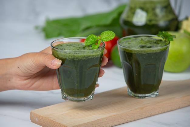 Bevanda salutare, frullato di verdure