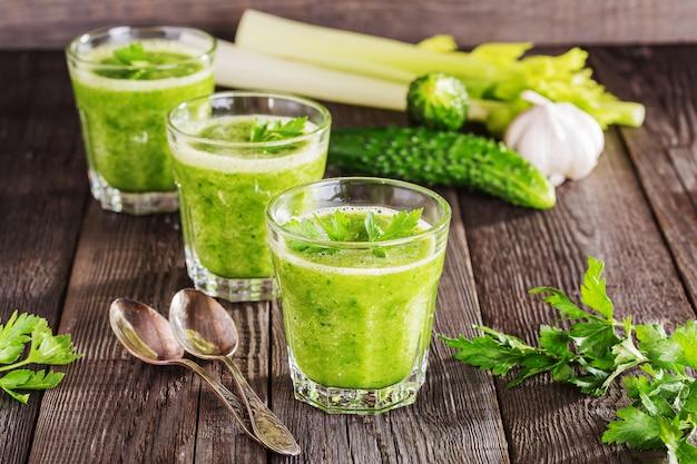 健康ドリンク、野菜スムージー
