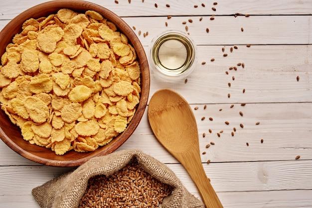건강한 식생활 유기농 제품 식품 근접 촬영