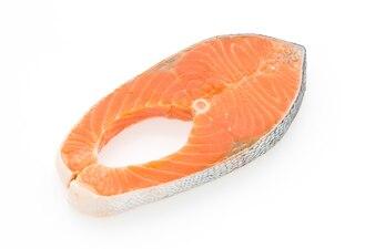 Healthy fillet dinner white orange