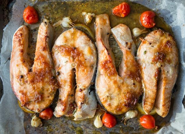 健康食品:焼き鮭
