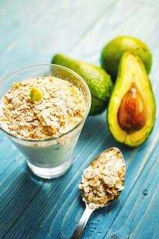 Healthy food. dietary breakfast or snack.