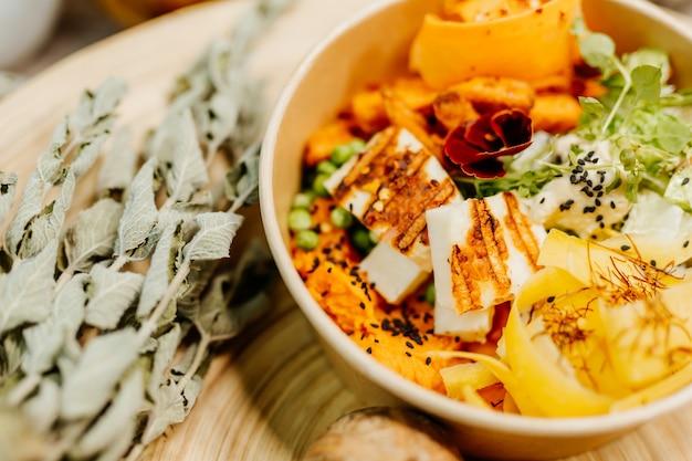Здоровое питание для сбалансированного питания, богатого витаминами