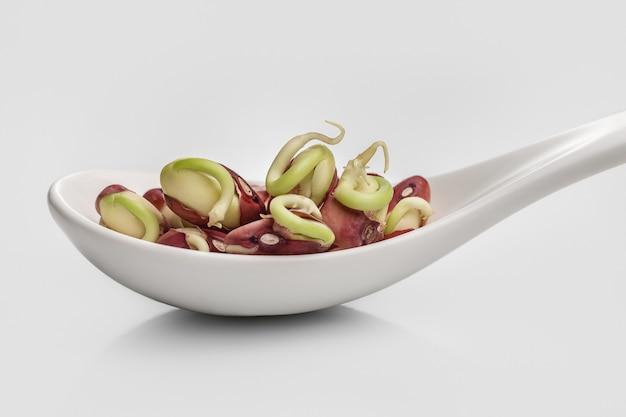 Здоровая пища. зеленая фасоль.