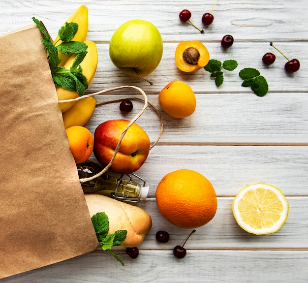 紙袋の健康食品