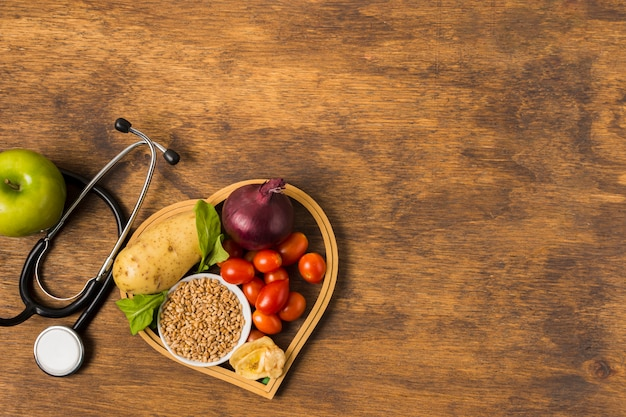 Healthy food and medical equipment