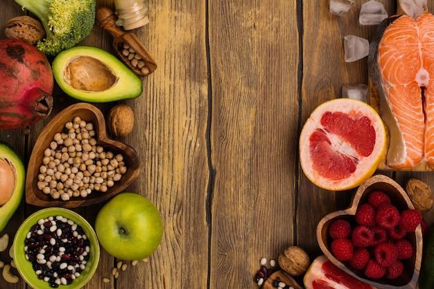 Healthy food or paleo diet