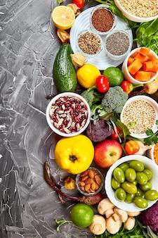 Полезная фруктово-овощная композиция