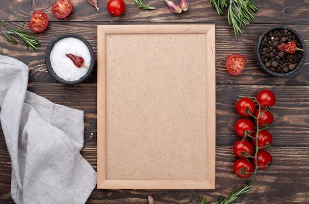料理のための健康的な食材