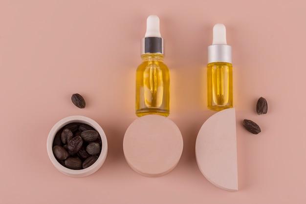 Disposizione sana per il trattamento dell'olio di jojoba