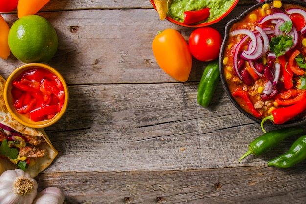 Healthy mexican recipe
