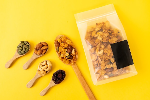 Healthy multigrain cornflakes