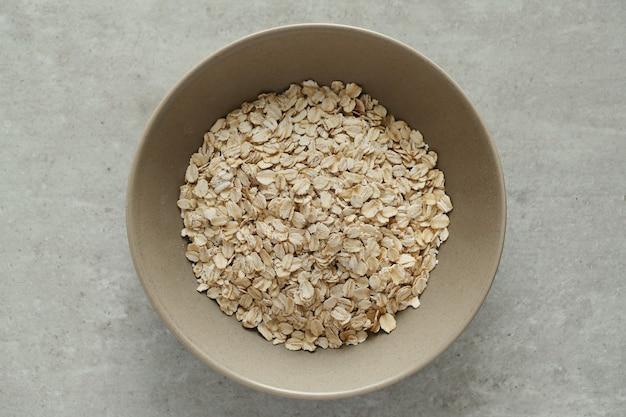 Healthy oatmeal for breakfast