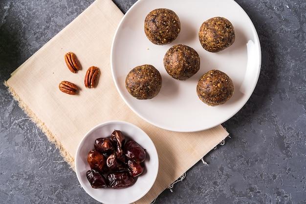 Healthy organic energy balls