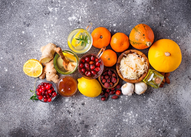 Healthy products for immunity boosting