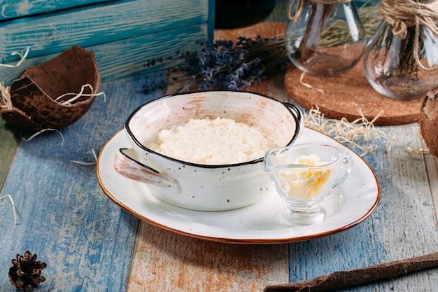 牛乳とバターのヘルシーお粥