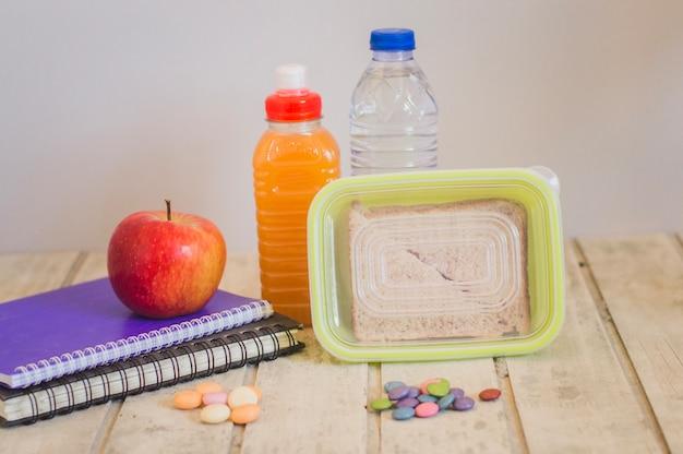 Healthy snack for school